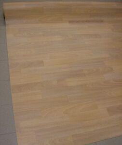 Das Bild Wird Geladen Pvc Bodenbelag 170x400 Rest Buche Parkettoptik Hell Viele