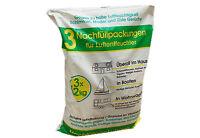 Raumentfeuchter Granulat Entfeuchter Luftentfeuchter Nachfüllpackungen 3 X 1,2kg