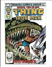 MARVEL TWO IN ONE # 97 (THE THING & IRON MAN, MAR 1983), NM