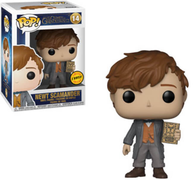 Funko pop THE CRIMES OF GRINDELWALD NEWT SCAMANDER NO 14 LIMITED CHASE EDITION