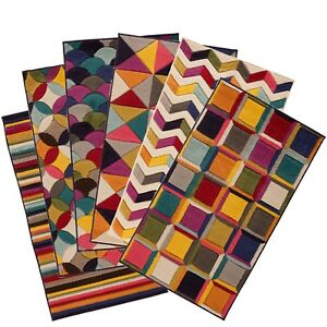 Multi-colour-Rug-Prismatic-Soft-Spectrum-Funky-Multicoloured-rugs-small-to-Large