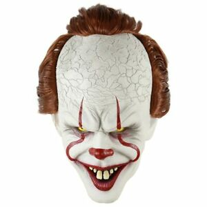 Halloween-Masque-ca-Face-Horror-Clown-Masks-Party-Latex-Mask-Pennywise-IT-King