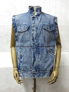 Blaue Oldschool Jeansjacke mit Reißverschluss Element für Damen