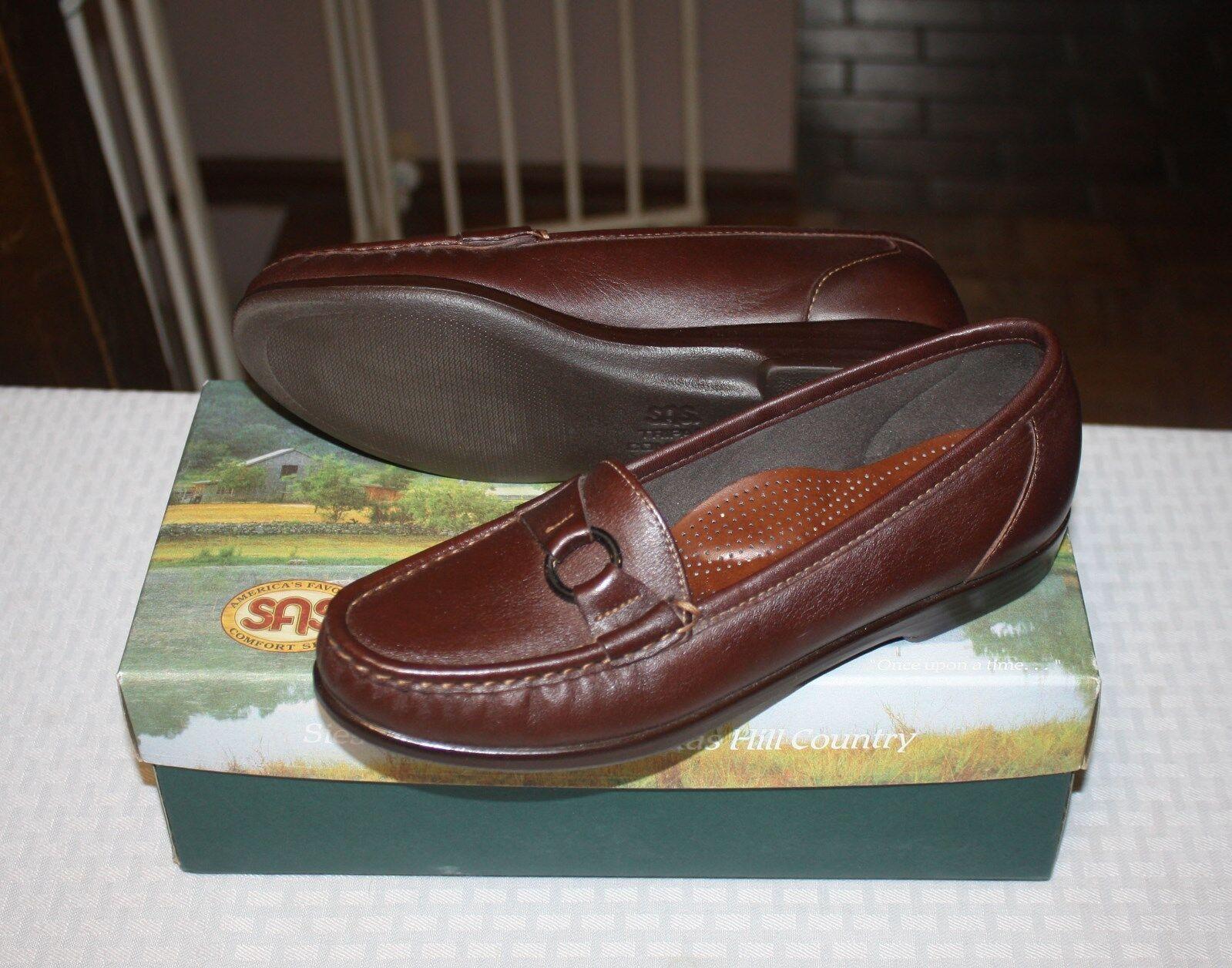 NEU Damenschuhe SAS Jewel Cinnamon Schuhes Größe 7 1/2S