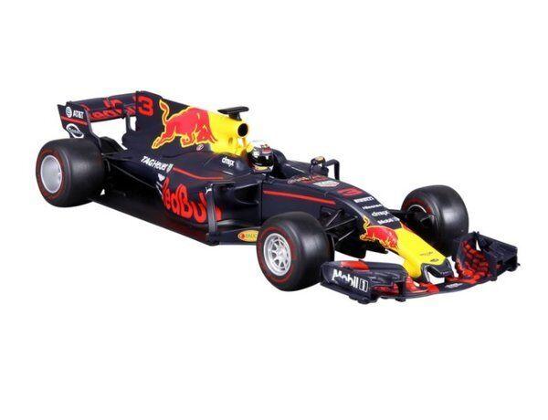 BURAGO 1 18 AUTO F1 rosso BULL RACING TAG HEUER RB13 DANIEL RICCIARDO 18-18002R
