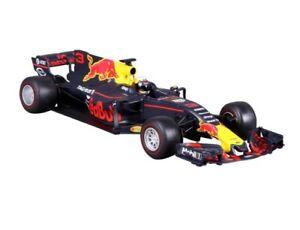 Burago 1:18 Auto F1 Red Bull Racing Tag Heuer Rb13 # 3 Daniel Ricciardo 18-18002r