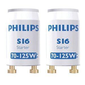 10x Philips Starter Tubo Fluorescente 70-125w [Specification UE: 220-240v] - France - État : Neuf: Objet neuf et intact, n'ayant jamais servi, non ouvert, vendu dans son emballage d'origine (lorsqu'il y en a un). L'emballage doit tre le mme que celui de l'objet vendu en magasin, sauf si l'objet a été emballé par le fabricant d - France