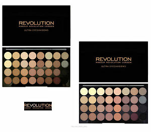 Image is loading Makeup-Revolution-Ultra-32-Eye-Shadow-Palette-Beyond-