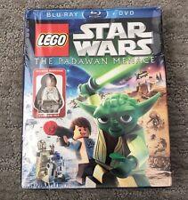 New LEGO Star Wars Movie The Padawan Menace Bluray+DVD Young Han Solo MiniFigure