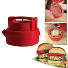 3-in-1 Stuffed Burger Press Hamburger Patty Maker and sliders non stick