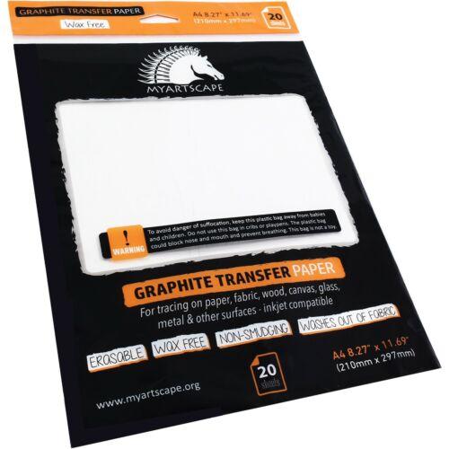 MYARTSCAPE GRAPHITE TRANSFER PAPER