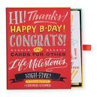 Ladyfingers Letterpress High Five Greeting Card Assortment 9780735348295