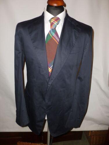 44 bleu Hilfiger Italie Veste Fabriqué marine en blazer coton Nouveau Taille en Collection FwS8q