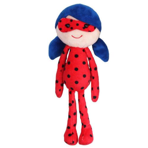Miraculous LadyBug Toy Cat Noir Adrien Marinette Stuffed Spielzeug Puppe 25CM