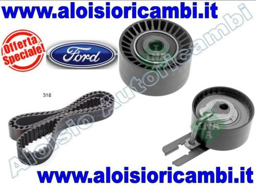 TIMING BELT KIT INA FORD FIESTA 1.4 TDCI BEARINGS AND BELT