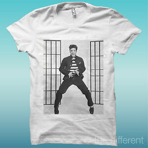 T-SHIRT-034-ELVIS-PRESLEY-034-BIANCO-THE-HAPPINESS-IS-HAVE-MY-T-SHIRT-NEW