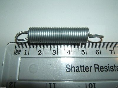 STEEL EXPANSION EXTENSION EXPANDING EXTENDING TENSION SPRING 63x12.5x1.3mm 2¼x⅜/""