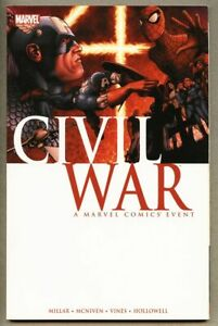 GN-TPB-Civil-War-collected-fn-6-5-1st-20007-Mark-Millar-Steve-McViven