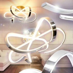 Illuminazione Design Luce LED Lampada Cromo Salotto Soggiorno Stile ...