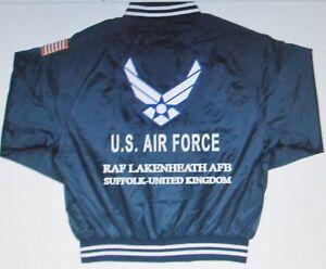 RAF-LAKENHEATH-AFB-UNITED-KINGDOM-AIR-FORCE-EMBROIDERED-2-SIDED-SATIN-JACKET