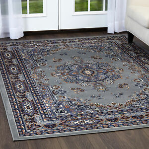 Image Is Loading Persian Silver Area Rug Runner 2 X 8