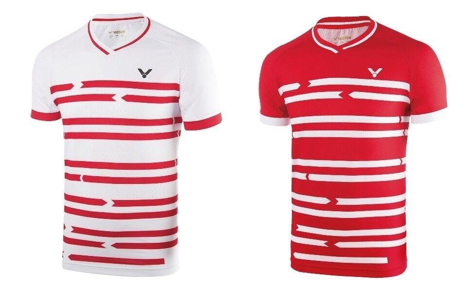 Victor Shirt Denmark Unisex 6628   Badminton Tischtennis Polo