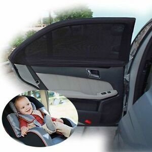 2pcs car window sunshade shadesox shade sox uv protector baby back seat cover ebay. Black Bedroom Furniture Sets. Home Design Ideas