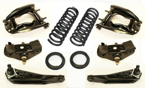 1965-1966 6 cyl Mustang Suspension Kit Upper Lower Control Arms Springs Saddles