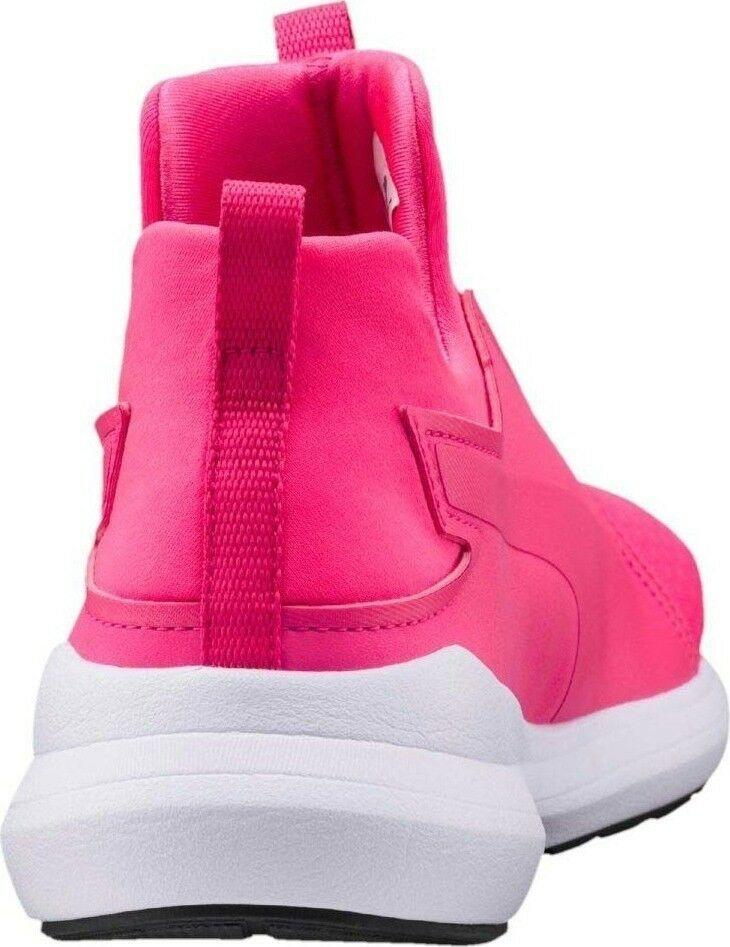PUMA REBEL MID TRAINERS SNEAKERS Donna SHOES PINK/WHITE 6.5 64539-03 SIZE 6.5 PINK/WHITE NEW 8fd8a1