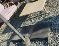 bf9c86fa41af item 4 John Lewis Henley by Kettler Parasol Slabs Only x 2 Stabalising  Weights -John Lewis Henley by Kettler Parasol Slabs Only x 2 Stabalising  Weights