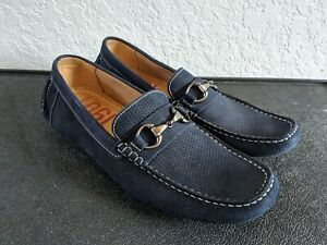 1901 Blue Suede Loafer, Dress / Casual