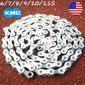 KMC-6-7-8-9-10-11-Speed-Chains-MTB-Bike-Cassette-Chain-Cycling-Fits-Shimano-SRAM