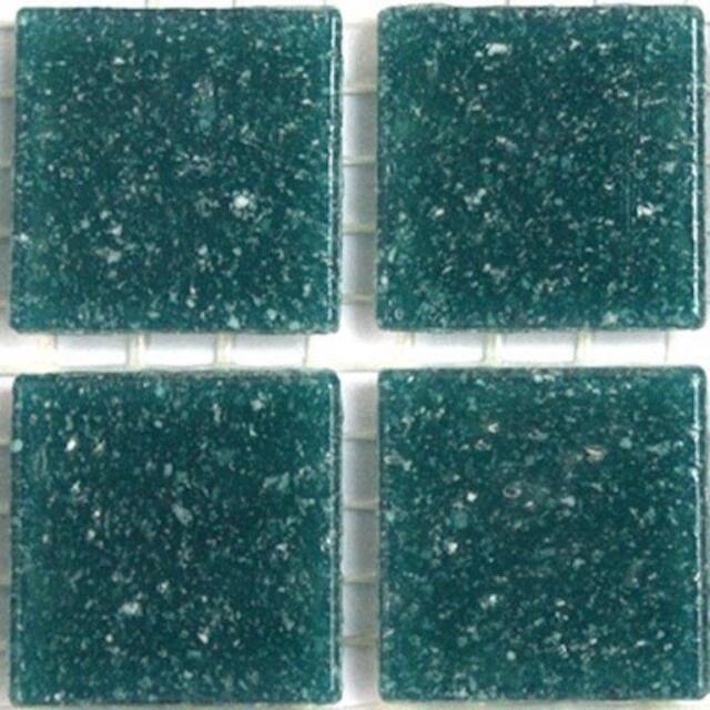 Vitreous Glass Mosaic Tiles 20mm Deep Sea by Hobby Island Mosaics