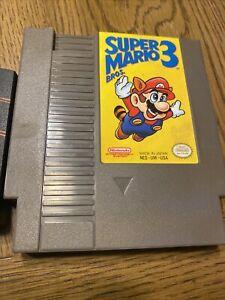 Super Mario Bros 3 Nintendo Entertainment System NES TESTED