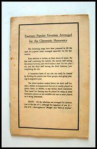 """RARE 1950's  """" FOURTEEN FAVORITES FOR CHROMATIC HARMON ICA"""""""
