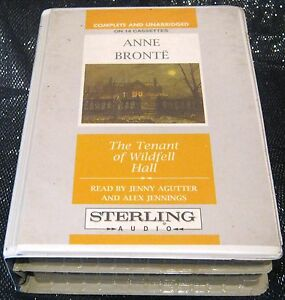 Anne-Bronte-The-Tenant-of-Wildfell-Hall-read-by-Jenny-Agutter-14-Audio-Cassettes