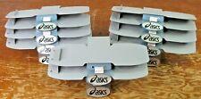 Lot Of 10 Asics Metal Slat Wall Store Display Shoe Shelves