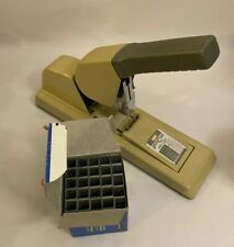 Max Hd 12f Max Hd 12f High Capacity Flat Clinch Heavy Duty Stapler 150 Sheet