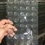 100 piezas Círculos Adhesivos Adhesivos Tapón de Botella Redondo Forma Clara Epoxi Transparente
