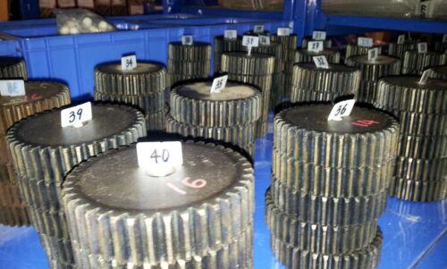 Zähnezahl 38 Mold1 Material C45 ETZR-M1-38 Modul1 Zahnrad