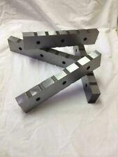 R E S Corp Set Of Model 2500 25 Alligator Shear Blades 4 Sided Steel Hardened