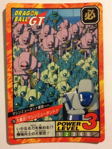 Dragon ball GT Super battle Power Level 790