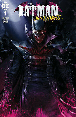 Batman Who Laughs 3 DC Skan Virgin Set Variant Scott Snyder Jock Joker