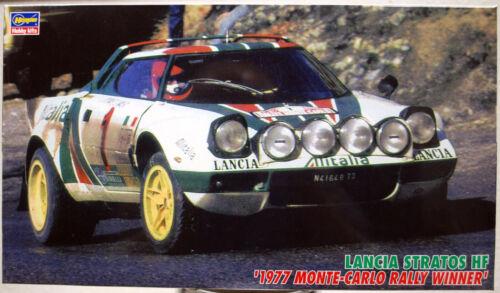 1977 Lancia Stratos HF Alitalia Rallye Monte Carlo Winner 1:24 Hasegawa 25032