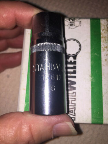 STAHLWILLE 12617  6mm Stud Remover Made in Germany New Old Stock CLOSEOUT