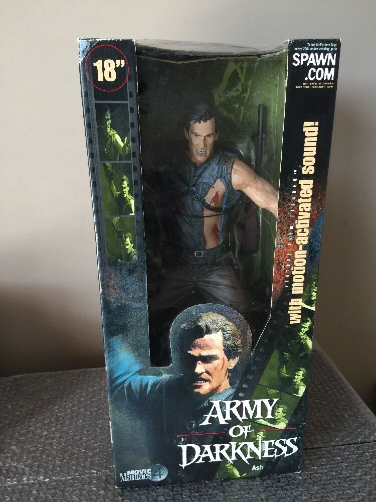 MCFARLANE TOYS MOVIE MANIACS ARMY OF DARKNESS ASH 18