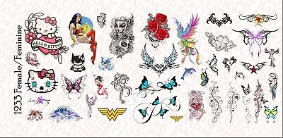 1//6 Scale Expendables Tattoo Decals for 12 inch Figures Waterslide Decals