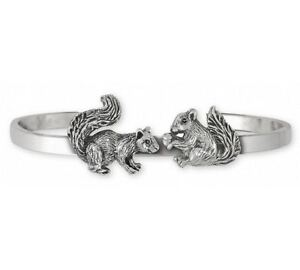 Image Is Loading Squirrel Bracelet Jewelry Sterling Silver Handmade