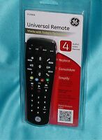 """Ge Universal Remote 24944 (4-a/v Devices) """"factory - Sealed"""" Great Product"""