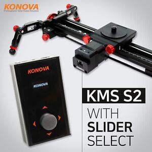 Konova-KMS-S2-dispositivo-di-scorrimento-della-fotocamera-motorizzati-con-slider-Scelta-Auto-Live